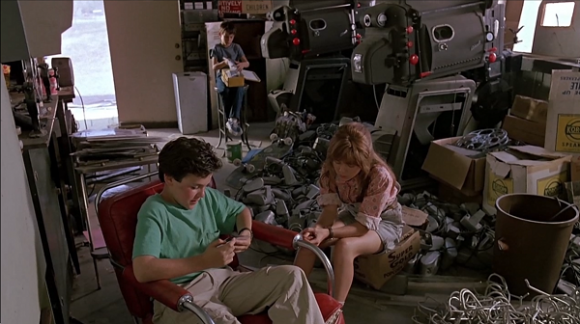 Fred Savage, Jenny Lewis and Luke Edwards in The Wizard