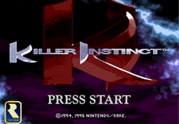 Killer Instinct splash screen