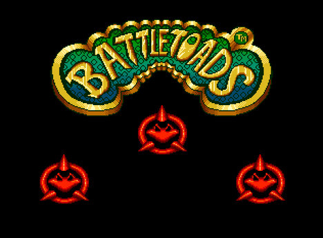 Battletoads splash