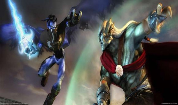 Raziel and Kain