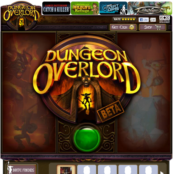 Dungeon Overlord loading screen