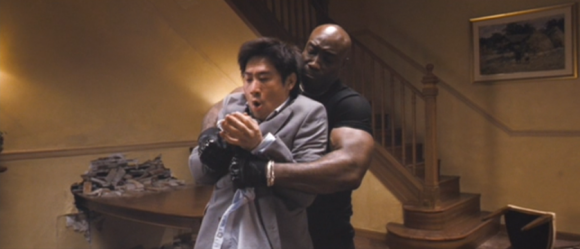 Chun-Li's dad tries to beat off the guy from Green Mile
