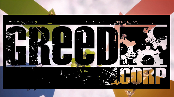 Greed Corp Title
