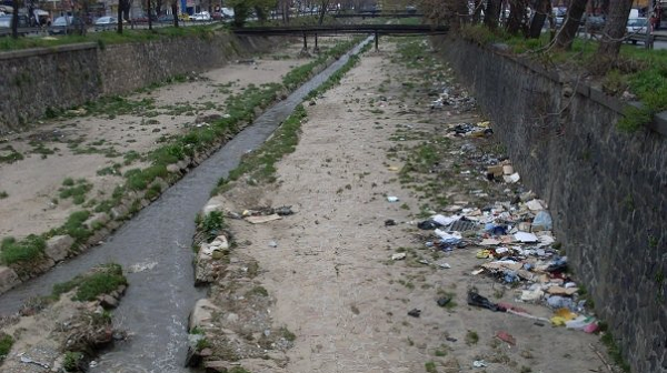 Again, couldn't find a satisfactory image for this so I just upload a picture of a river running through Sofia in Bulgaria