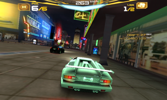 Asphalt 7 screenshot