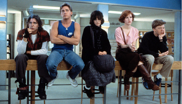 Because I forgot to say it before, but fuck The Breakfast Club, it is m,assive piece of shit that people hark back to without realising how terrible it is. It stifles great 80s films like 'Say Anything'.