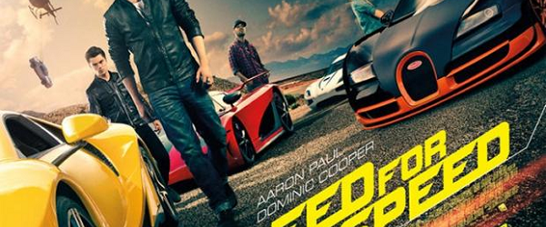 Do you think that you should to read 1800 words on Need for Speed the film? Look no further.
