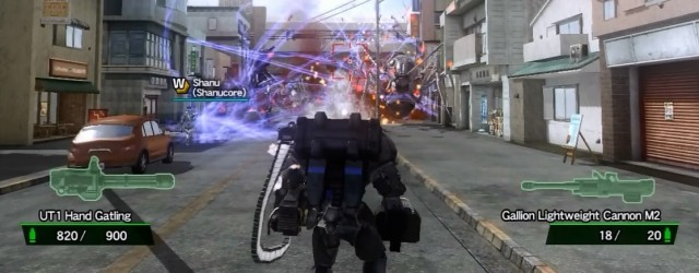 Shaun and AJ stand back to back, staunchly defending the Earth... and EDF 2025 while they're at it.
