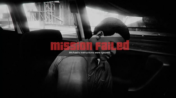 GTA V Mission Failed 02
