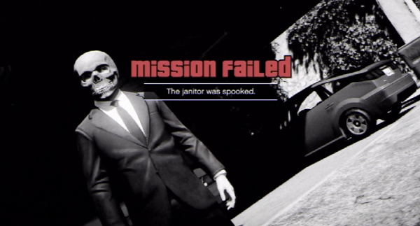 GTA V Mission Failed 05