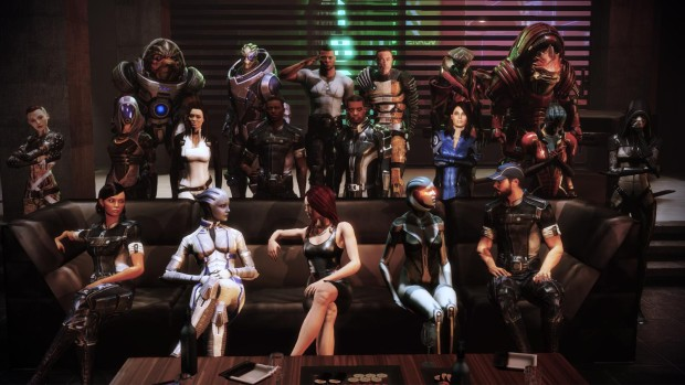 Mass Effect Citadel party photo