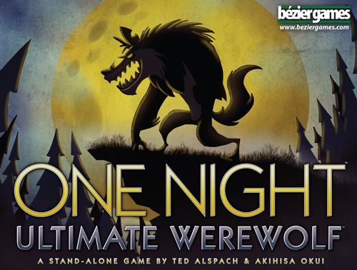 One Night Ultimate Werewolf cover